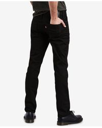 Levi's - Black ® 511tm Slim Fit Performance Stretch Jeans for Men - Lyst
