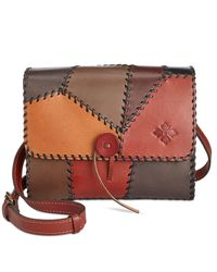 Patricia Nash | Multicolor Patchwork Dante Flap Shoulder Bag | Lyst