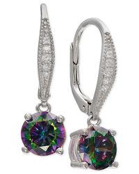 Giani Bernini | Metallic Mystic Cubic Zirconia Drop Earrings In Sterling Silver | Lyst