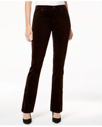 Charter Club - Brown Lexington Corduroy Straight-leg Pants - Lyst