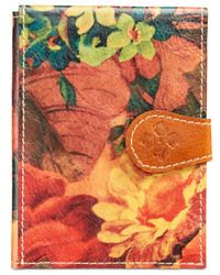 Patricia Nash | Orange Passport Holder | Lyst