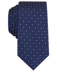 Perry Ellis | Blue Men's Tabit Neat Tie for Men | Lyst