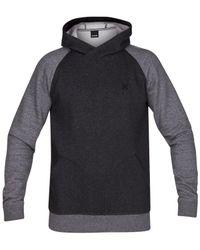 Hurley | Black Men's Getaway 2.0 Fleece Pullover Hoodie for Men | Lyst