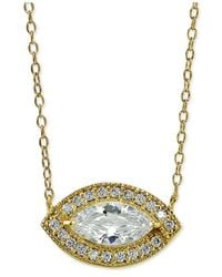 Giani Bernini | Metallic 18k Gold-plated Evil-eye Pendant Necklace | Lyst