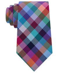 Tommy Hilfiger | Blue Men's Super Multi Grid Tie for Men | Lyst
