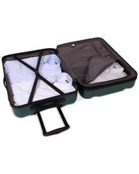 """Revo - Green Apex 21"""" Expandable Hardside Spinner Suitcase - Lyst"""
