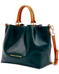 Dooney & Bourke - Black Large Barlow Leather Tote - Lyst