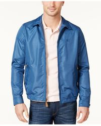 Izod - Blue Men's Lightweight Golf Jacket for Men - Lyst