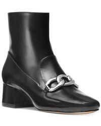 Michael Kors - Black Vanessa Ankle Booties - Lyst