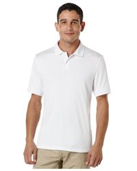 Perry Ellis - White Two-button Polo for Men - Lyst