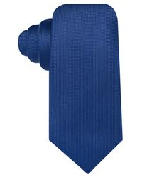 Countess Mara - Blue Pique Solid Tie for Men - Lyst