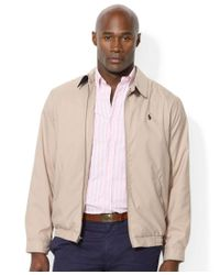 Polo Ralph Lauren | Black Men's Big And Tall Jackets, Bi-swing Windbreaker for Men | Lyst