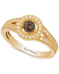 Le Vian - Metallic Diamond Ring (3/8 Ct. T.w.) In 14k Gold - Lyst