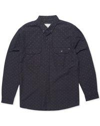 Rip Curl | Black Men's Neville Shirt for Men | Lyst