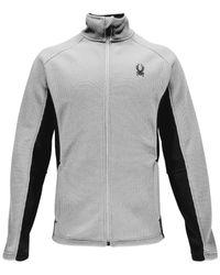 Spyder | Gray Constant Zip Performance Sweater for Men | Lyst