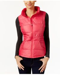 32 Degrees | Pink Packable Down Vest | Lyst