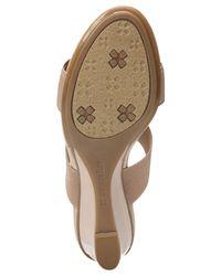 Naturalizer - Multicolor Hayden Embellished Wedge Sandals - Lyst