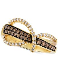 Le Vian   Metallic Diamond Statement Ring (1/2 Ct. T.w.) In 14k Gold   Lyst