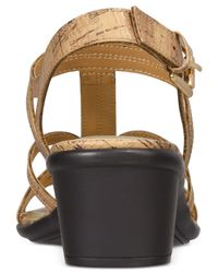 Easy Street - Multicolor Britney Sandals - Lyst