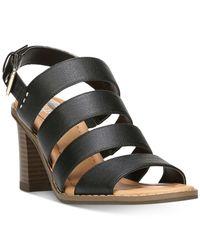 Dr. Scholls | Black Parkway Sandals | Lyst