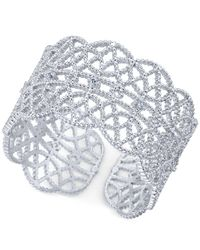 INC International Concepts | Metallic Crystal-studded Filigree Ring | Lyst