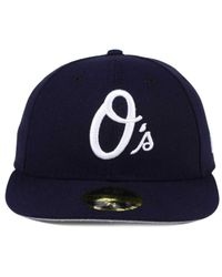 online retailer 3adc5 b2cf4 wholesale lyst ktz baltimore orioles low profile c dub 59fifty fitted cap in  7a7f1 20605