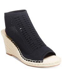 Steven by Steve Madden | Black Evers Wedge Sandals | Lyst