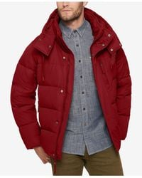 Marc New York - Multicolor Men's Quilted Jacket With Removable Hood And Collar for Men - Lyst