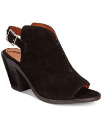 Frye | Black Women's Courtney Slingback Mules | Lyst