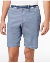 Original Penguin   Blue Men's Oxford Denim Shorts for Men   Lyst