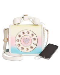 Betsey Johnson | Multicolor Mini Phone Crossbody | Lyst