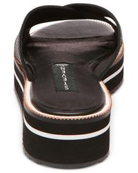 Steven by Steve Madden - Black Women's Katie Slide-on Platform Sandals - Lyst