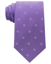 Michael Kors | Purple Men's Four Point Neat Tie for Men | Lyst