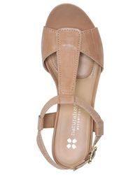 Naturalizer - Natural Camilla Wedge Sandals - Lyst