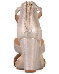 INC International Concepts Multicolor Women's Lilbeth Wedge Sandals