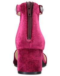 Rialto   Multicolor Martell Block-heel Detail Dress Pumps   Lyst