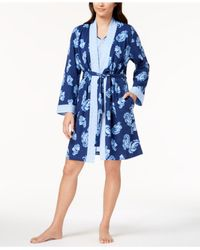 Charter Club - Blue 2-piece Robe Set, Created For Macy's - Lyst