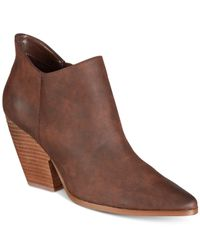 Charles David - Brown Natasha Booties - Lyst