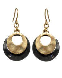 Kenneth Cole | Metallic Earrings, Round Orbit Drops | Lyst