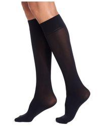 Lauren by Ralph Lauren | Black Women's Opaque Trouser 3 Pack Socks | Lyst