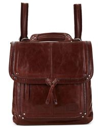 The Sak | Brown Ventura Small Leather Backpack | Lyst