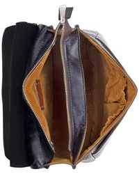 Patricia Nash - Black Tuscan Tooled London Small Saddle Bag - Lyst