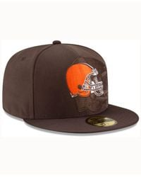 KTZ Cleveland Browns Sideline 59fifty Cap for men