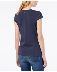 Weekend by Maxmara - Blue T-shirt - Lyst