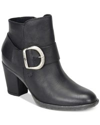 Born - Black Cille Booties - Lyst