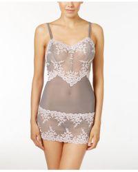 Wacoal | Gray Embrace Lace Chemise 814191 | Lyst
