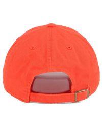 47 Brand - Orange Tonal Pop Clean Up Cap for Men - Lyst