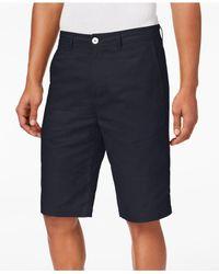 Sean John - Blue Linen Shorts, Created For Macy's for Men - Lyst