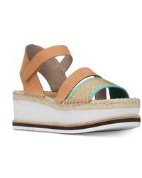 d521c1311f6 Lyst - Donald J Pliner Donald J. Pliner Anie Flatform Sandals