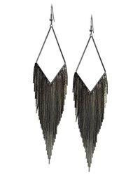 Guess | Gray Earrings, Tassel Drop Earrings | Lyst
